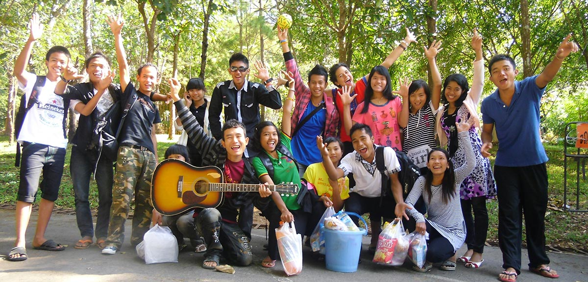 Students in Mae Sot
