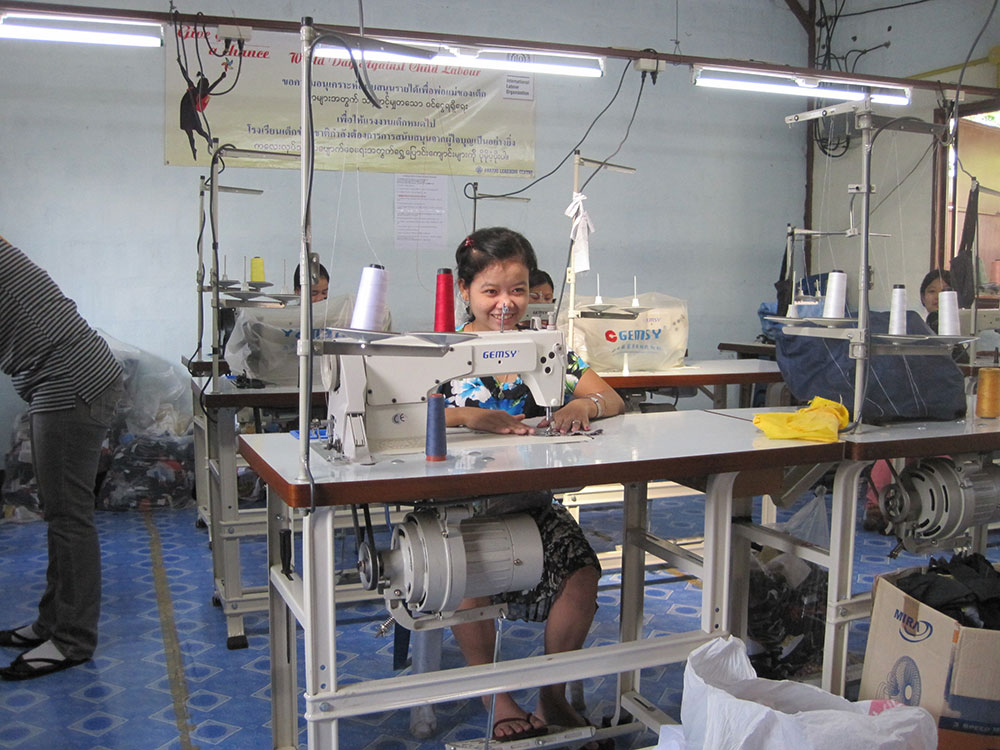 Parami-vocational-sewing-project